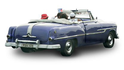 Decorative image of classic cuban car