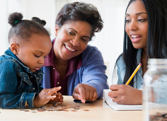 Savings accounts for you and your family
