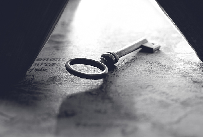 Popular Private Client decorative image of a key